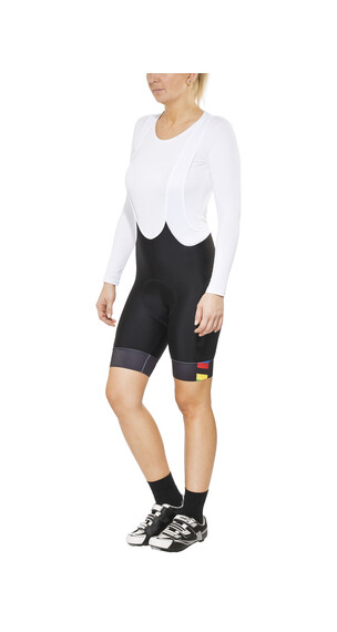Brügelmann Bioracer Pro Race Bib Short Women black